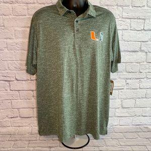 🆕 University of Miami Polo Shirt